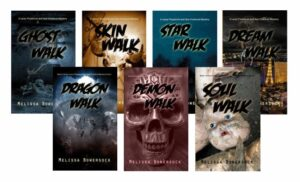 Melissa Bowersock Ghost Walk series 7books-tiered