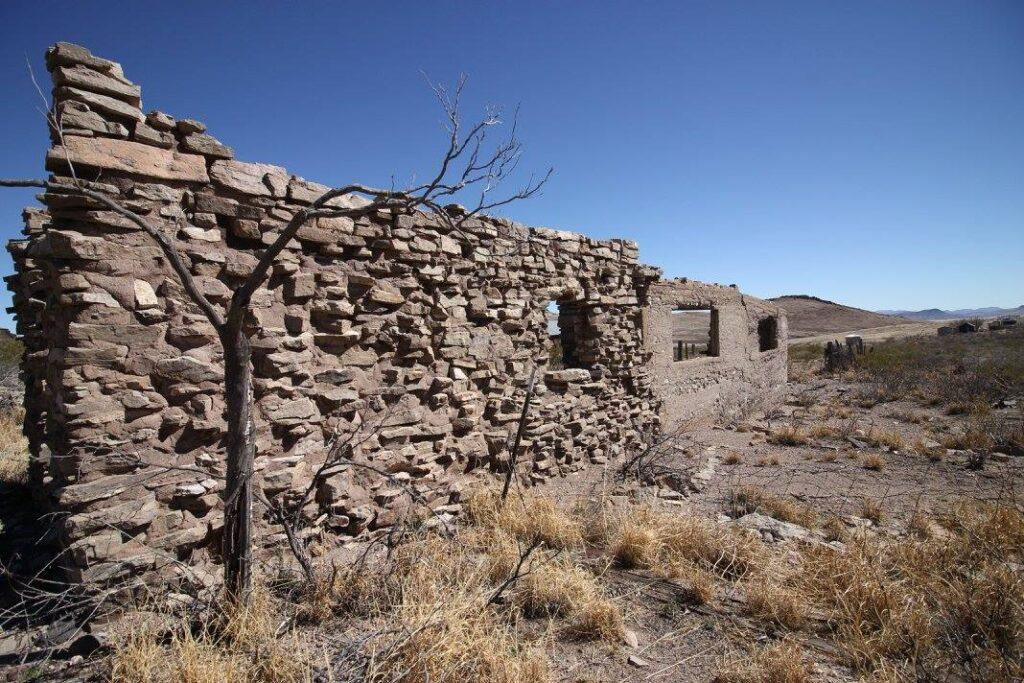 Lake Valley Historical Site Feb 2017 NM Copyright KS Brooks