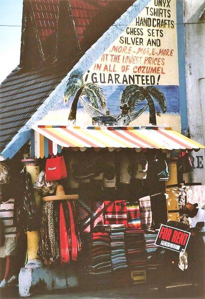 1998 cozumel shop flash fiction prompt