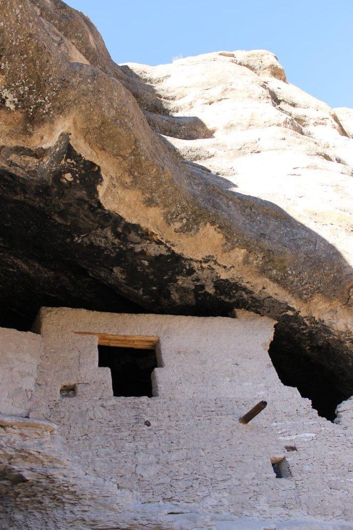 Gila Cliffs National Monument NM Feb 2017 copyright KS Brooks