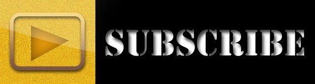 Subscribe Button courtesy of pixabay.com